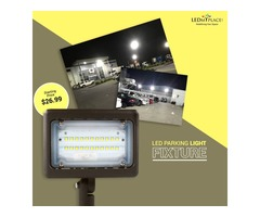 Light up your Surrounding By LED Parking lot Lights