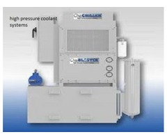 High Pressure Coolant Systems and Surface Grinding Machine