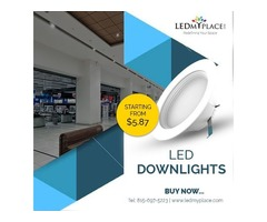 Winter Sale Dimmable LED Downlights to Reduce bills