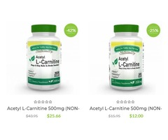 Instant discount VITAMINS on all Health Thru Nutrition
