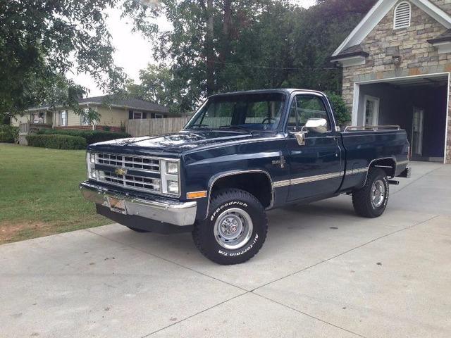 Sell 1987 Chevrolet Silverado 2000 Cars Huntsville Alabama