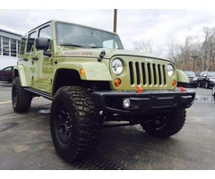 2013 Jeep Wrangler Sport Rubicon Hard Rock Appearance Package