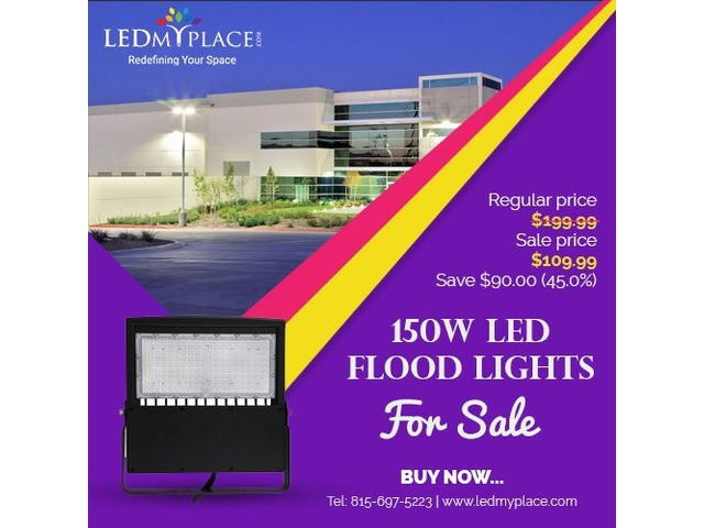 Get Exciting Deals on 150W Led Flood Lights | free-classifieds-usa.com