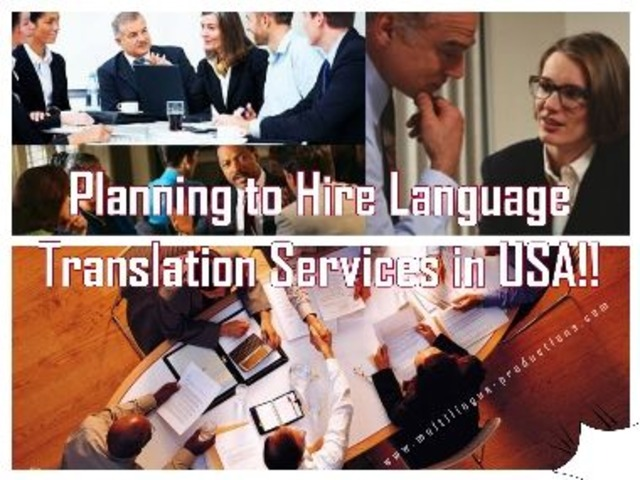 Effective Language Translation in USA by Multilingua Productions   free-classifieds-usa.com