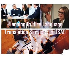 Effective Language Translation in USA by Multilingua Productions