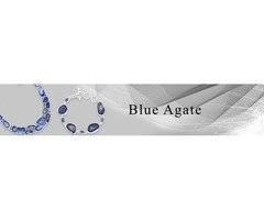 Buy Blue Agate Stone Jewelry Online At Wholesale Price | Sanchi and Filia P Designs