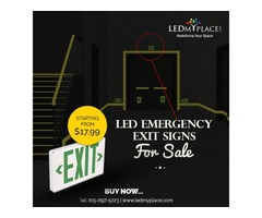 Premium Designed LED Exit Emergency Exit Lights On Sale