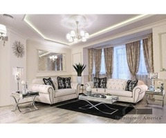 Buy Transitional Sofa with Love Seat Living Room Set