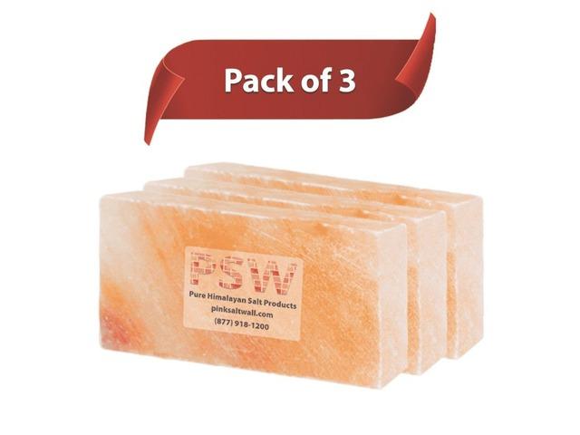 Himalayan Salt Blocks Pack Of 3 | free-classifieds-usa.com