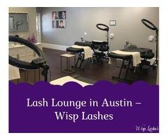 Lash Lounge in Austin – Wisp Lashes