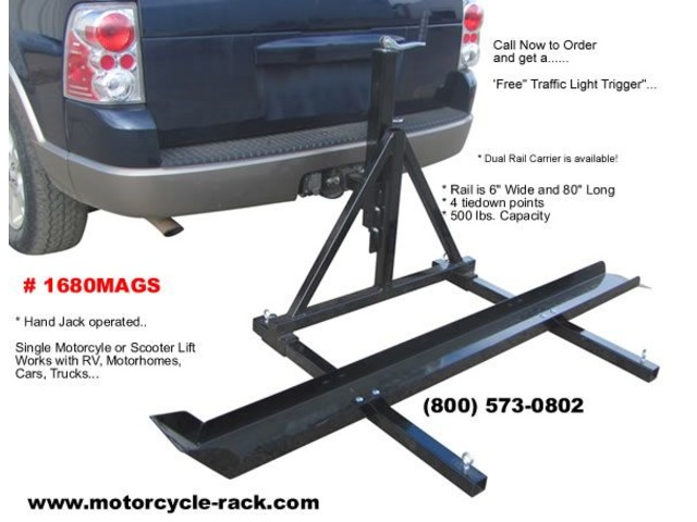 Motorhome Motorcycle Carrier | free-classifieds-usa.com