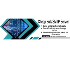 smtp server hosting bulk email server rental