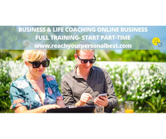 Business & Life Coaches To Work Online- Full Training- Start Part-Time