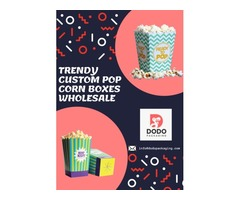 Get Trendy Custom Pop Corn Boxes Wholesale!