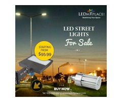 Purchase LED Street Lights To Lighten Up Your Outdoors
