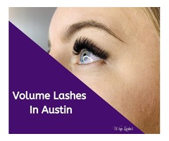 Volume Lashes In Austin - Wisp Lashes