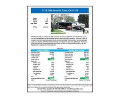 3 BR House For Sale - 213 E 54th Street N, Tulsa, OK 74126