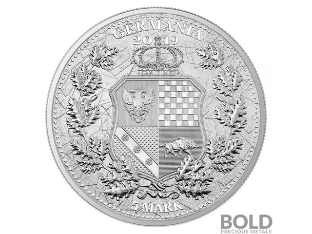 2019 Silver Allegories Germania & Columbia BU Round 1 oz | free-classifieds-usa.com