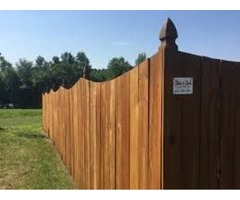 Fence staining in Mount Juliet