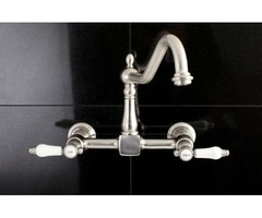 Wall Mount Kitchen Faucet for Bathroom Plumbing Requirements