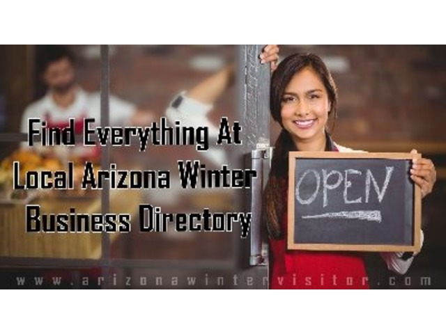 Local Arizona Winter Directory Website, That Helps You Find Everything You Need | free-classifieds-usa.com