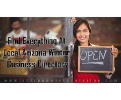 Local Arizona Winter Directory Website, That Helps You Find Everything You Need