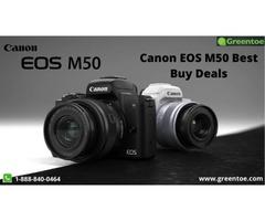 Canon EOS M50 Best Buy Deals