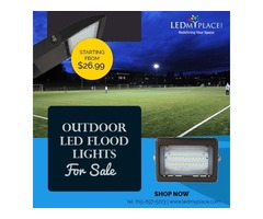 Industrial Grade Outdoor LED Flood Light at Discounted Price