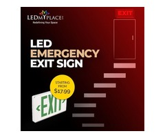 Upgrade Your Commercial Spaces with LED Emergency Lights