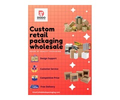 Custom Retail Boxes In Wholesale Rates.