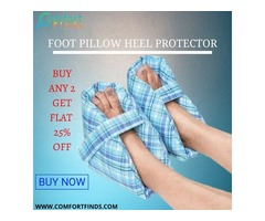 FOOT PILLOW HEEL PROTECTOR  are designed to Provide Relief from Skin Pressure.