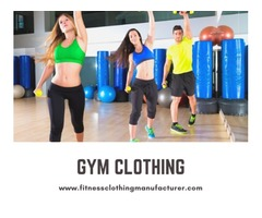 Get In Touch With Fitness Clothing Manufacturer To Get The Best Gym Clothes For Your Store!