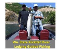 Klickitat River Wa. Fishing Riverside Resort
