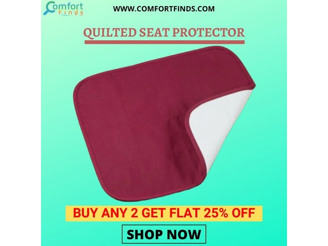 QUILTED SEAT PROTECTOR  are designed to Provide Relief from Skin Pressure. | free-classifieds-usa.com