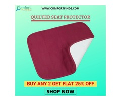 QUILTED SEAT PROTECTOR  are designed to Provide Relief from Skin Pressure.