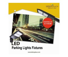 Industrial Grade LED Parking Lot Light at 20% Discounted Price