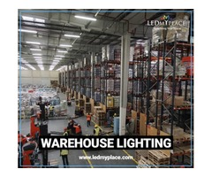 Industrial Grade LED Warehouse Lighting Fixtures at 20% Discounted Price