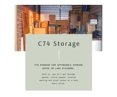 Looking for affordable storage units in Lake Elsinore?