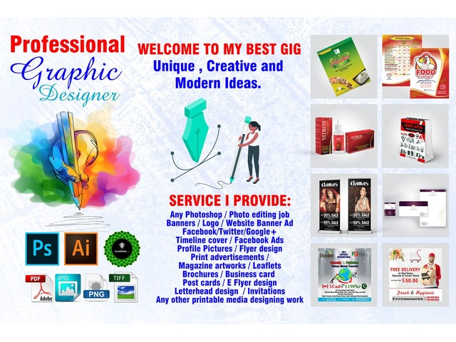 Professional Graphic Designer Graphic Design Services New York City New York Announcement 226050