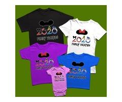Customized Family Vacation T-Shirts