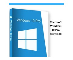 Microsoft Windows 10 Pro download