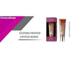 Custom printed lipstick box