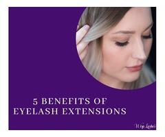 5 Benefits of Eyelash Extensions