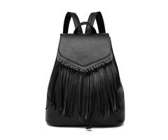Versatile Tassel Design Women Backpack