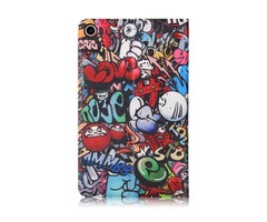Doodle Painting Version Tablet Case for 8 Inch Xiaomi Mipad 4