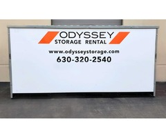 Odyssey Storage Rental Provide Portable Moving Containers Services on Rent