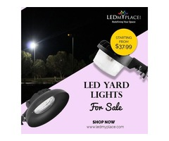 Industrial Grade LED Yard Lights At 20% Discounted Price