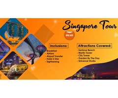 Book Singapore Vacation Packages at affordable Prices