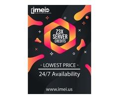 Z3X Server Credits