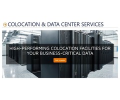 We Provide Caged, Shared Colocation services as well as Private Data Center Suites